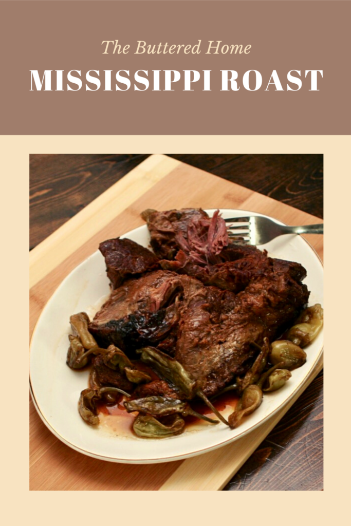 Mississippi roast pin for pinterest