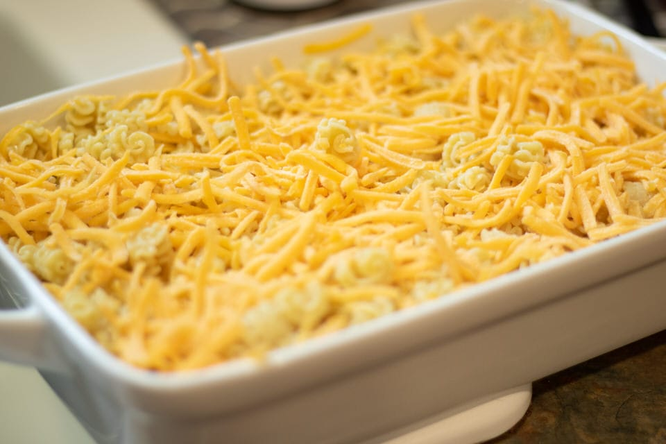 Top with more cheese