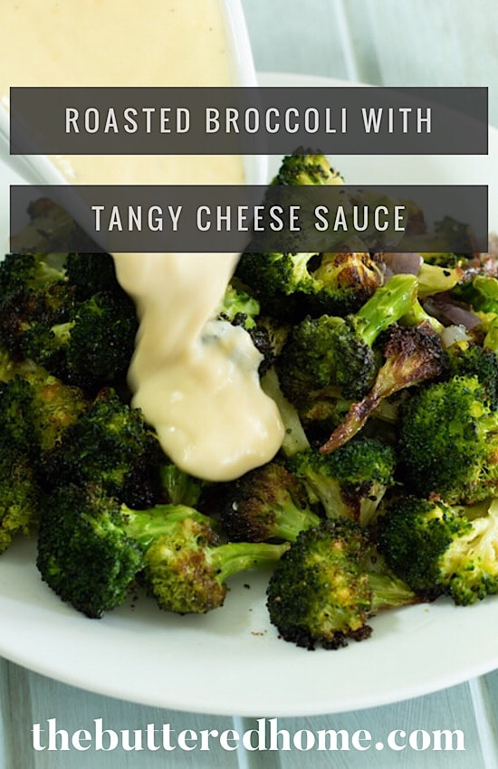 pin for roasted broccoli