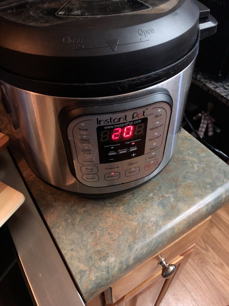 Electric Pressure Cooker Chili