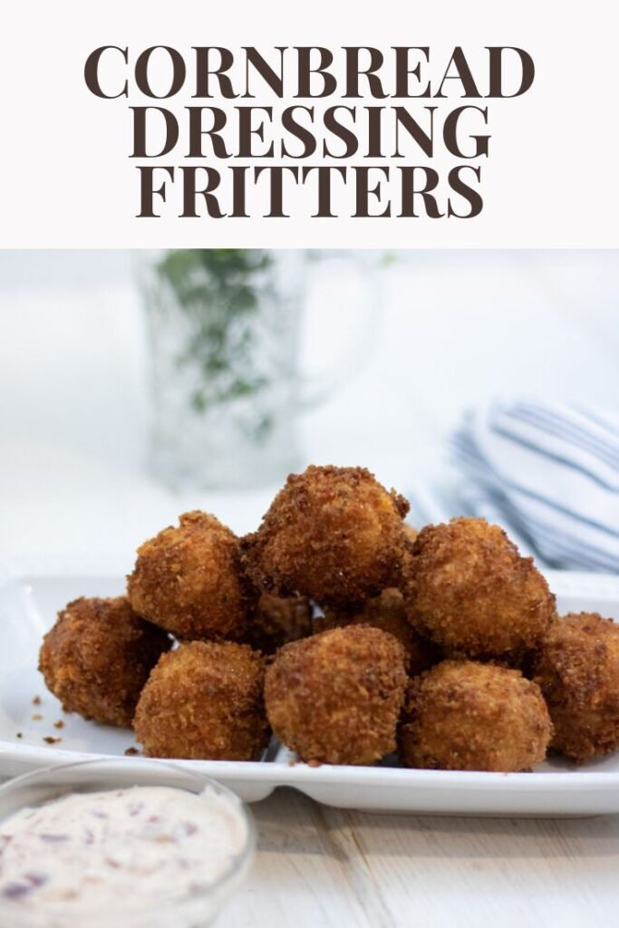 Cornbread Dressing Fritters