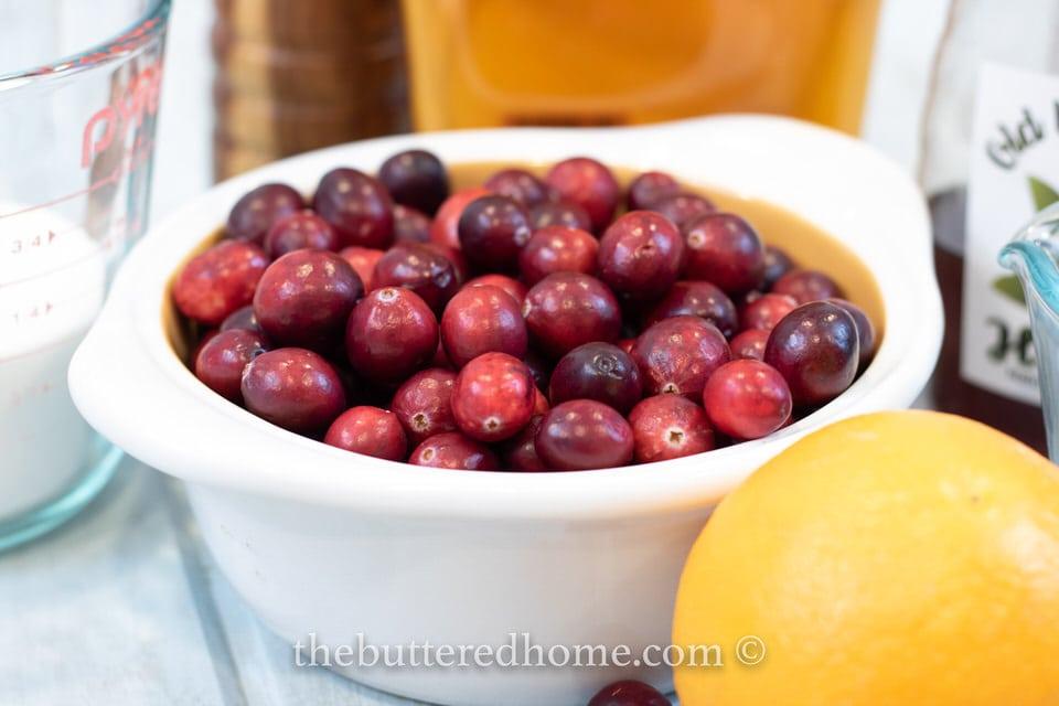 Homemade Cranberry Sauce