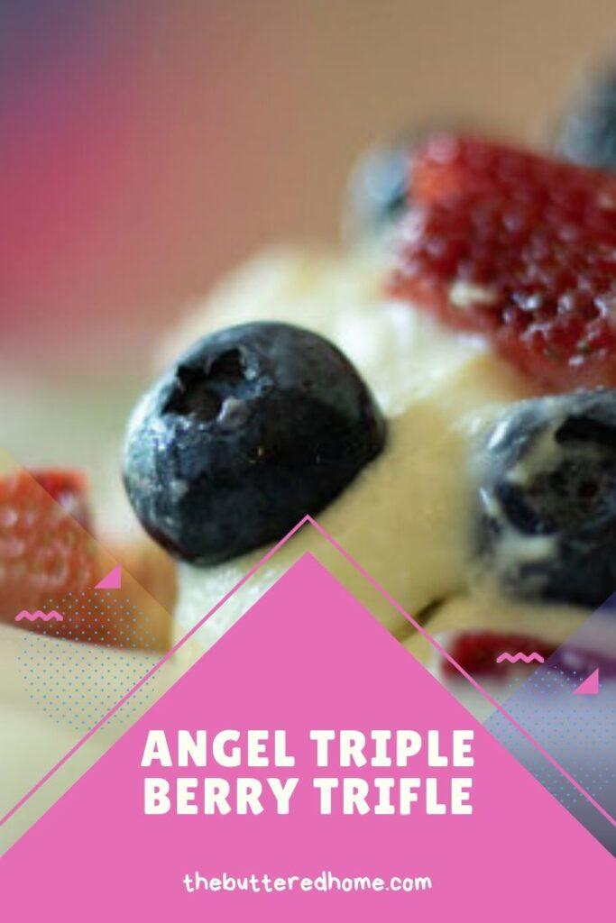 Angel Triple Berry Trifle