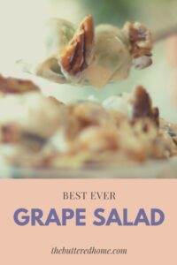 Best Ever Grape Salad