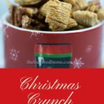Christmas Crunch Snack Mix