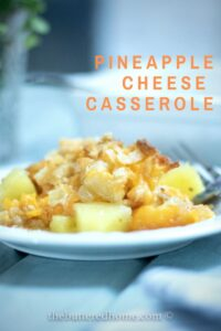 Pineapple Cheese Casserole