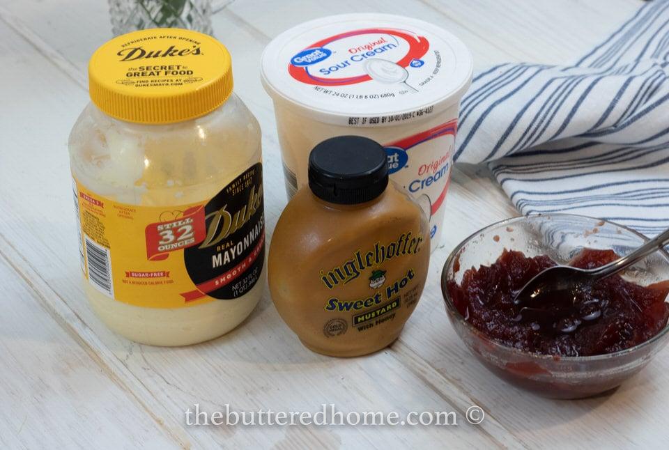 Creamy Cranberry Dipping Sauce