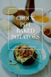 Baked Potatoes in the Crock Pot