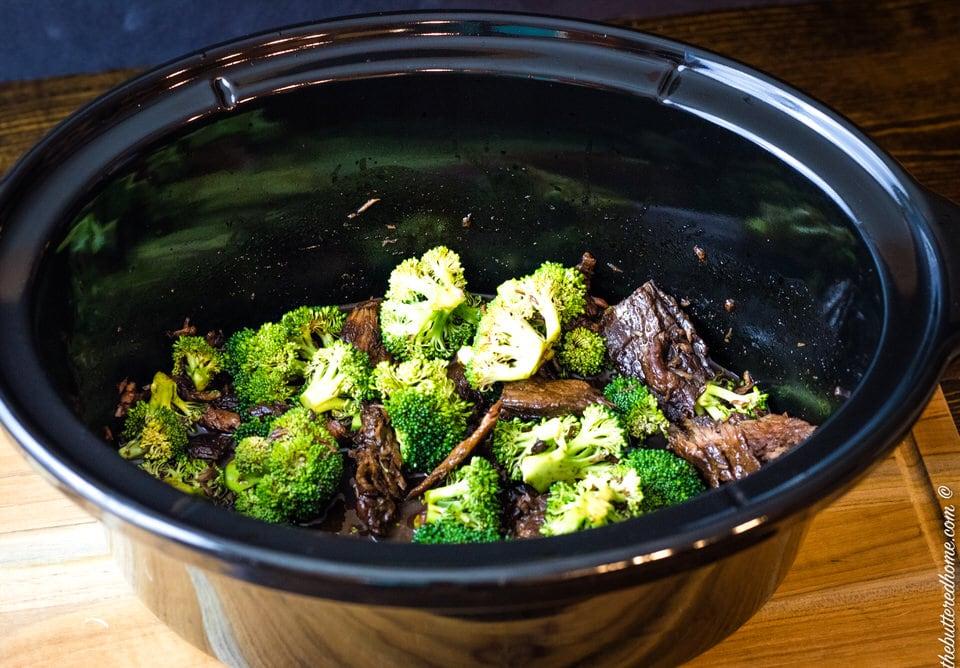 Crock Pot Broccoli Beef