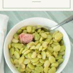 Instant Pot Butter Beans