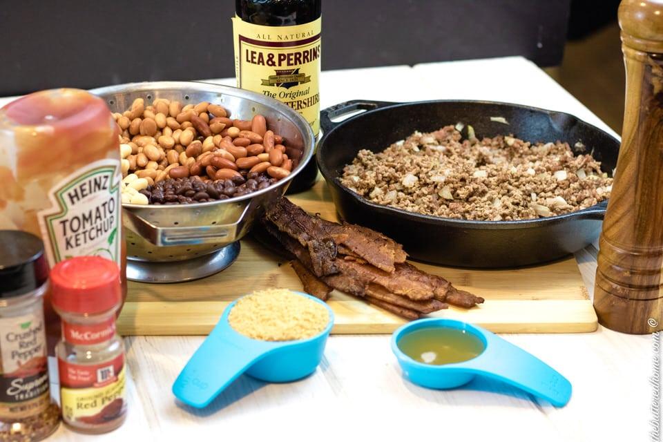 Crock Pot Cowboy Beans