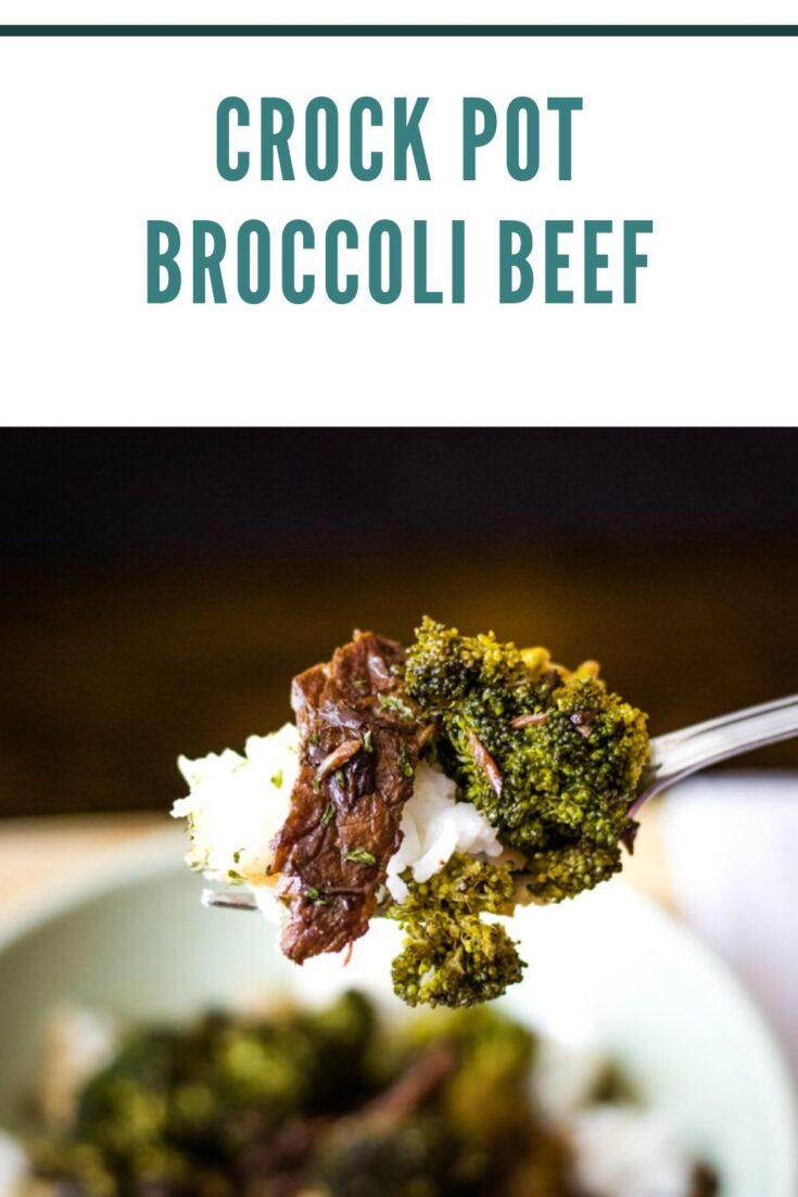 Crock Pot Broccoli Beef is a tasty way to get that healthy eating done right. With sweet and spicy notes that accentuate the slow cooked beef, this meal will feel a lot more decadent than it really is. #beefandbroccoli #crockpotbeefandbroccoli #broccolirecipes #beefrecipes #crockpotcooking