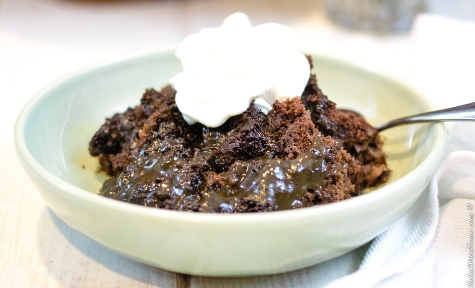 Crock Pot Lava Cake