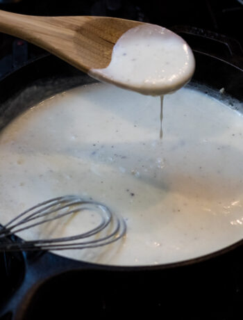How to make a white roux