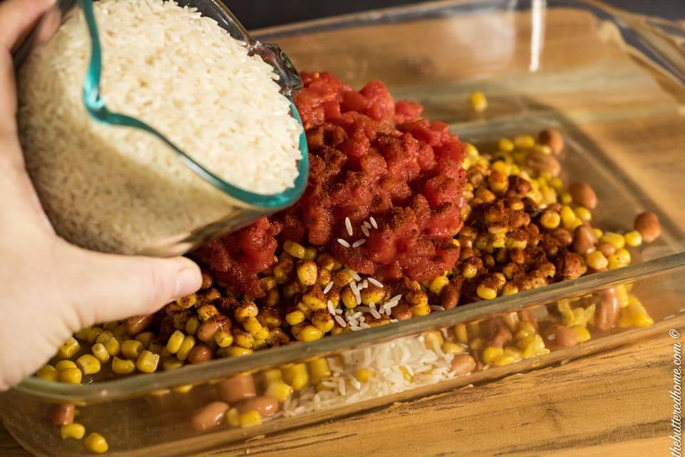 Cowboy Rice Casserole