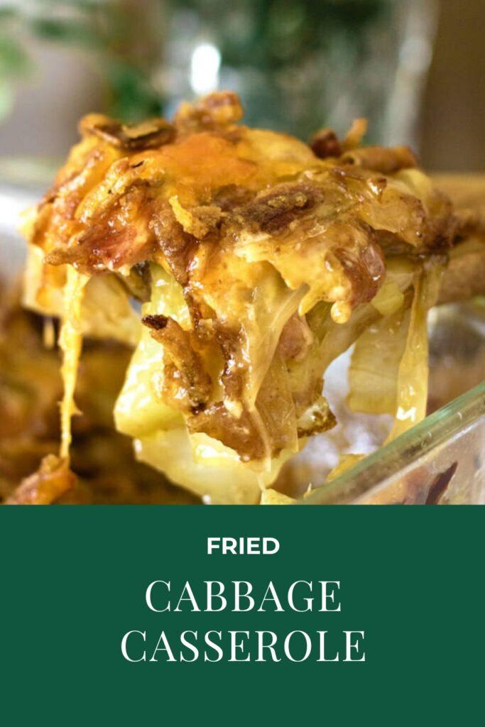 Fried Cabbage Casserole