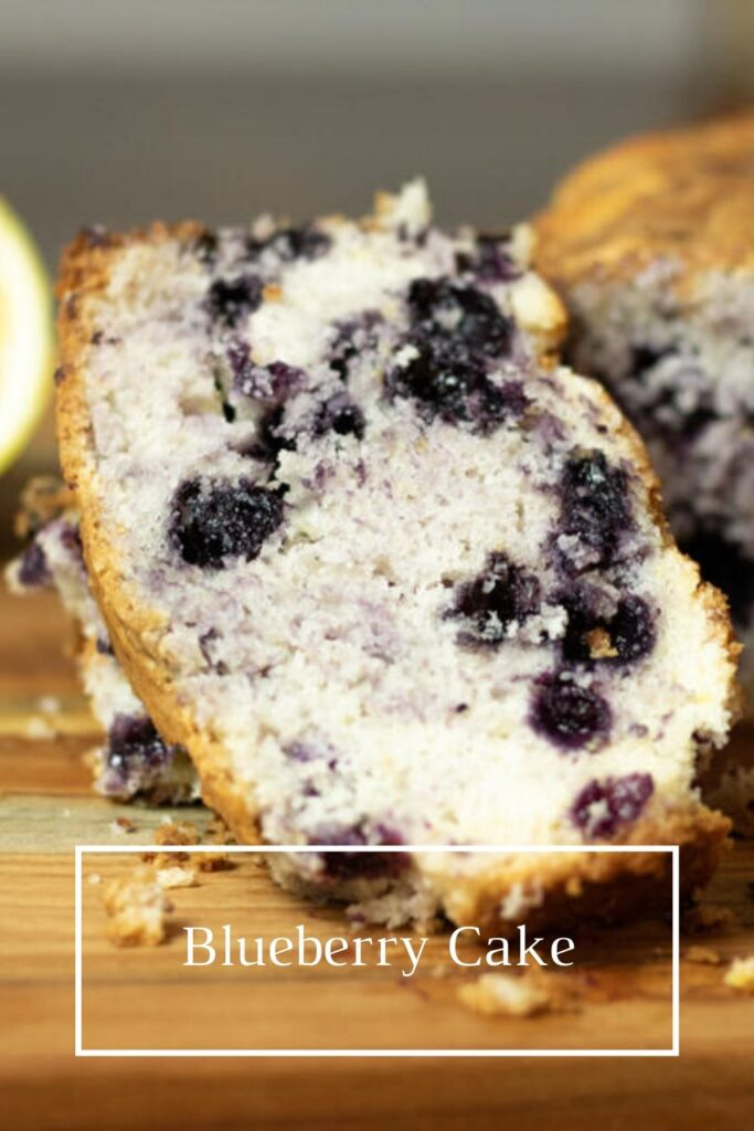 blueberry cake pin