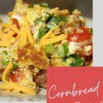 Cornbread salad pin for pinterest