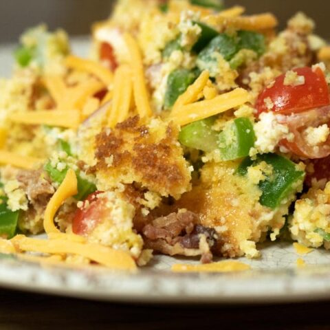 bacon cornbread salad