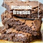 Homemade Brownie pin