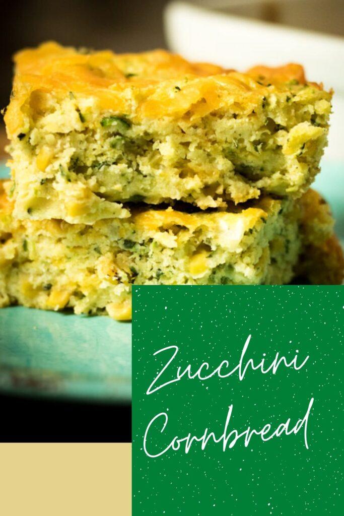 Zucchini cornbread pin