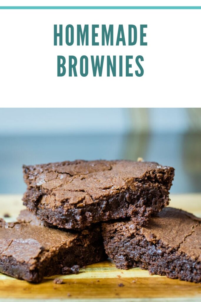 Homemade Brownie pin