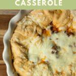 Italian crescent casserole pin