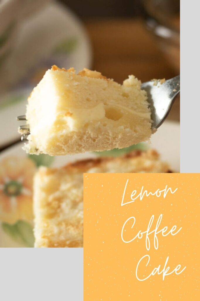 lemon coffee cake pin
