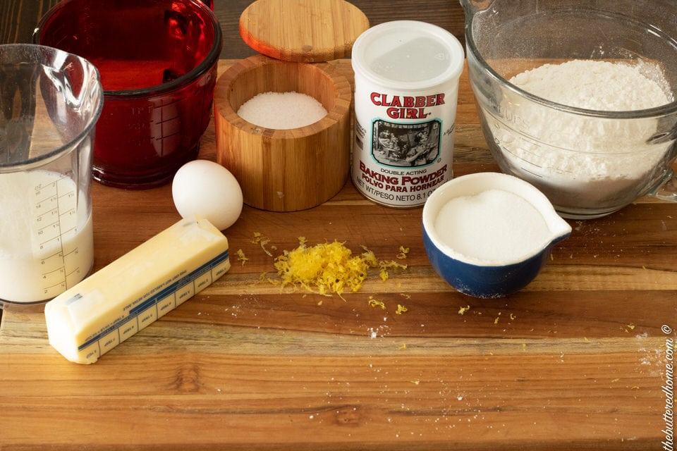 lemon coffee cake ingredients