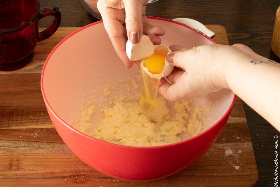adding egg whites