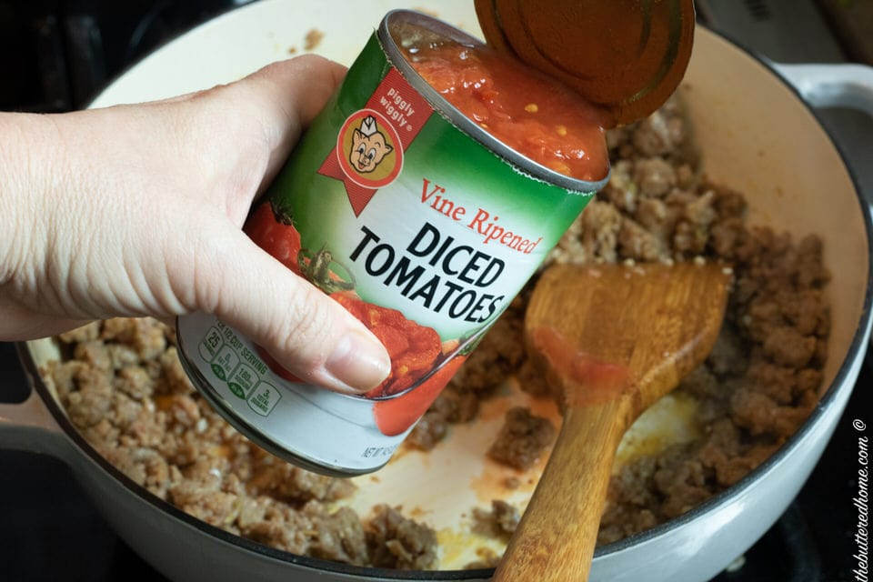 1 can of diced tomatoes