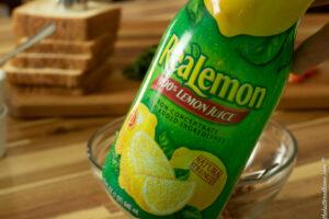 lemon juice for the spread