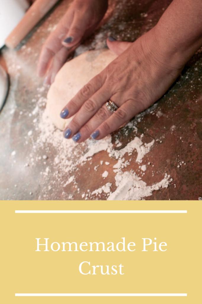 Pie crust pin