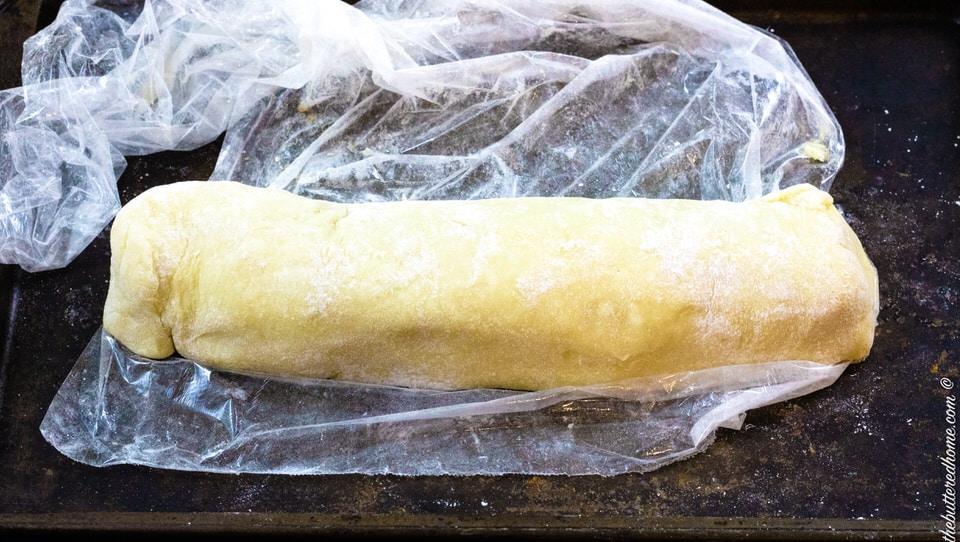 precut roll for cinnamon roll cookies