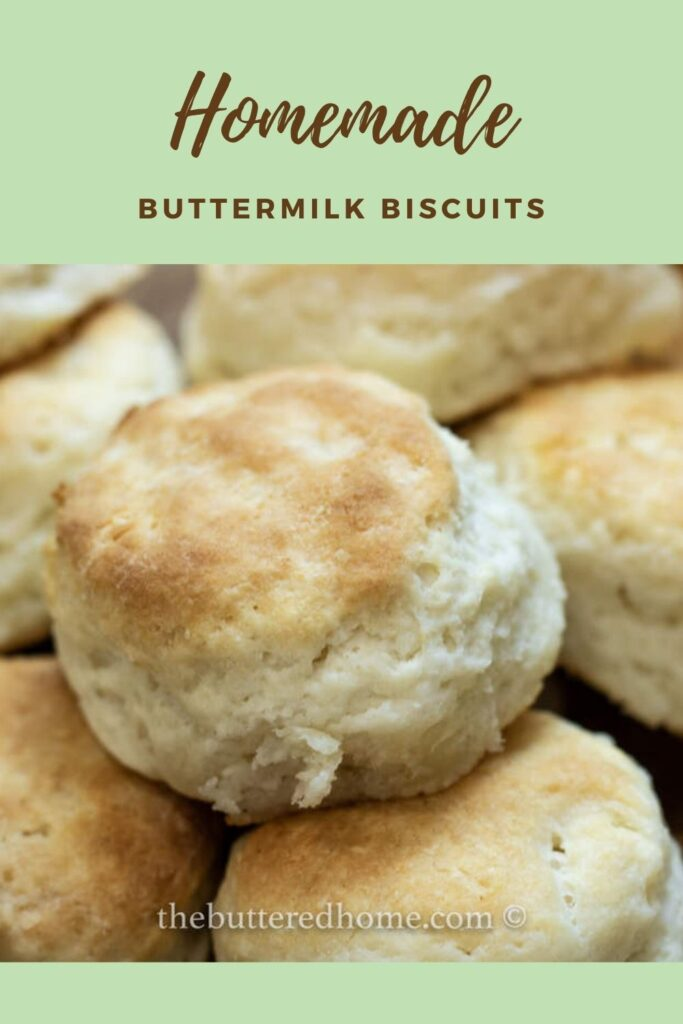 Buttermilk Biscuits pin for pinterest