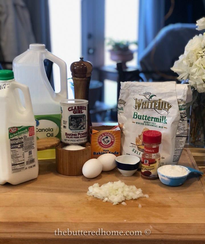 hush puppy ingredients