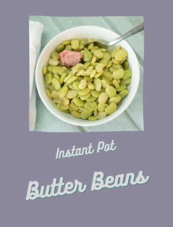 butter beans in a white bowl