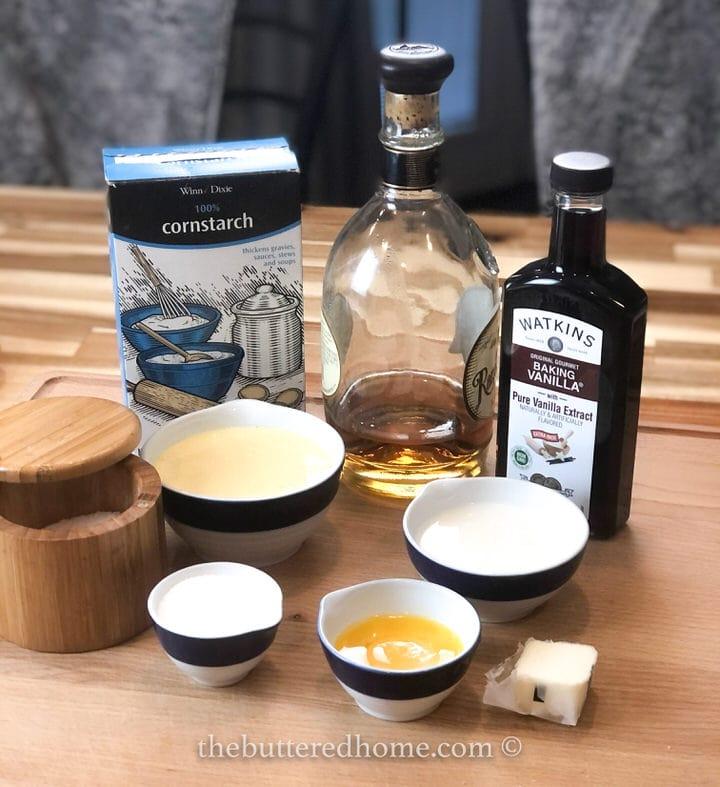 bourbon cream sauce ingredients