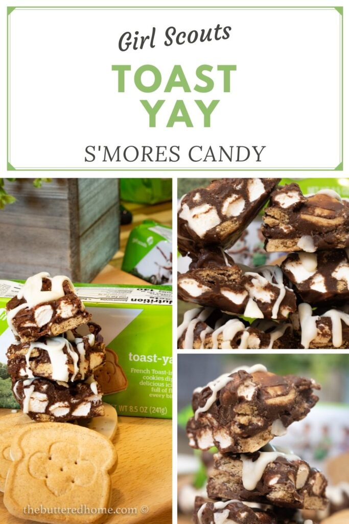 Toast Yay S'mores Candy pin