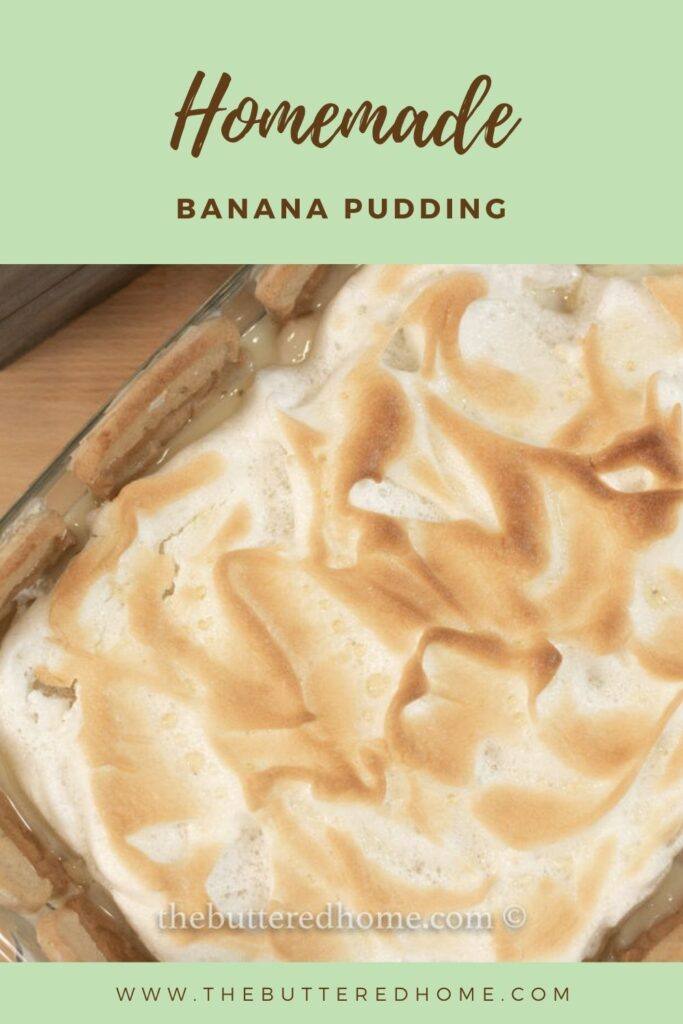 banana pudding pin