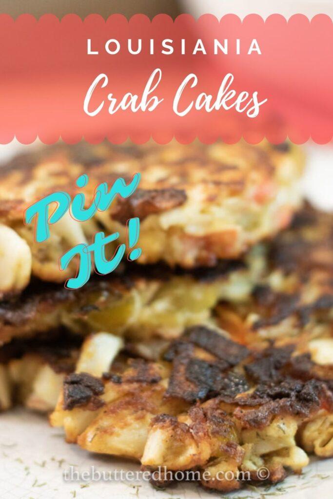 crab cakes pin