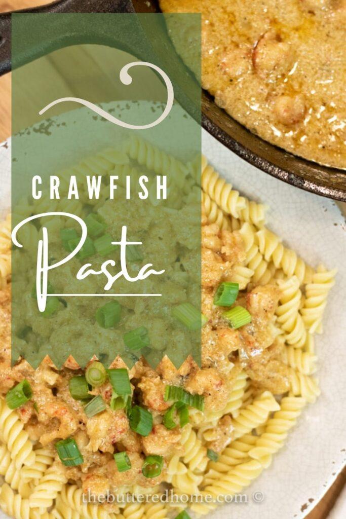 crawfish pasta pin