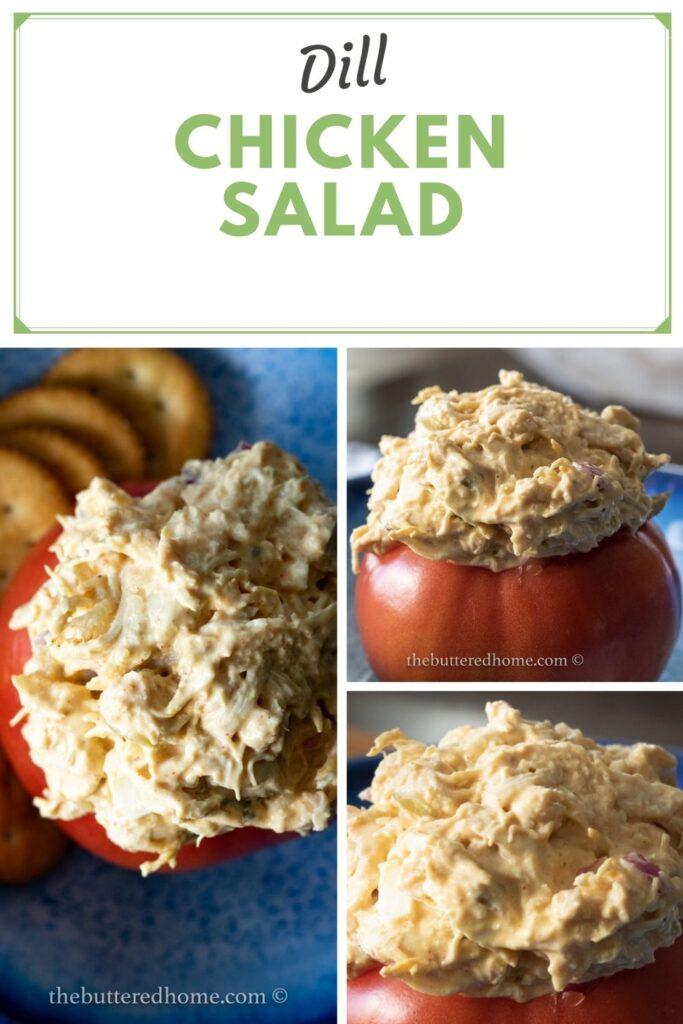 dill chicken salad pin