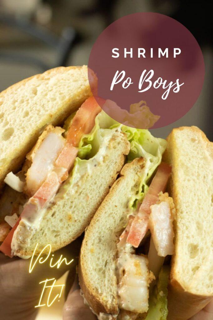 Shrimp Po Boy Pin
