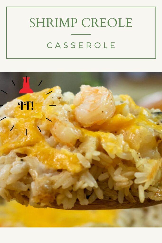 shrimp creole casserole pin