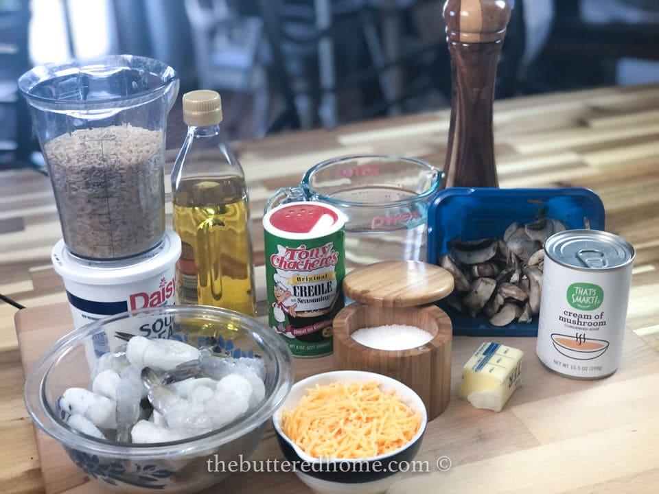 shrimp creole casserole ingredients