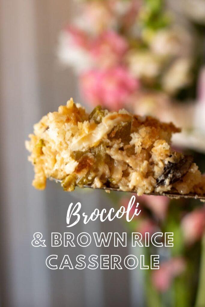 broccoli and brown rice pin