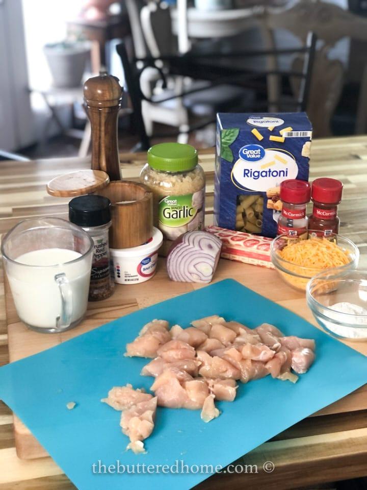 fried chicken casserole ingredients
